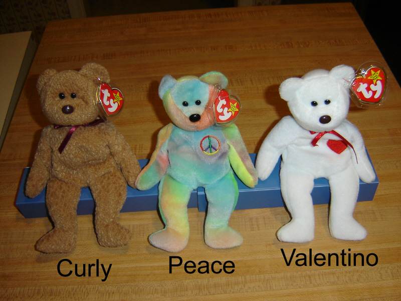 c0c5d7cf96d Curly the brown-napped bear -  3.50   Collectibles 4 Sale